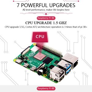 Raspberry Pi 4 Model B Development Board Kit 2G nepal official